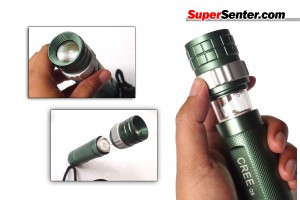 Senter Cree Q5 for Camping