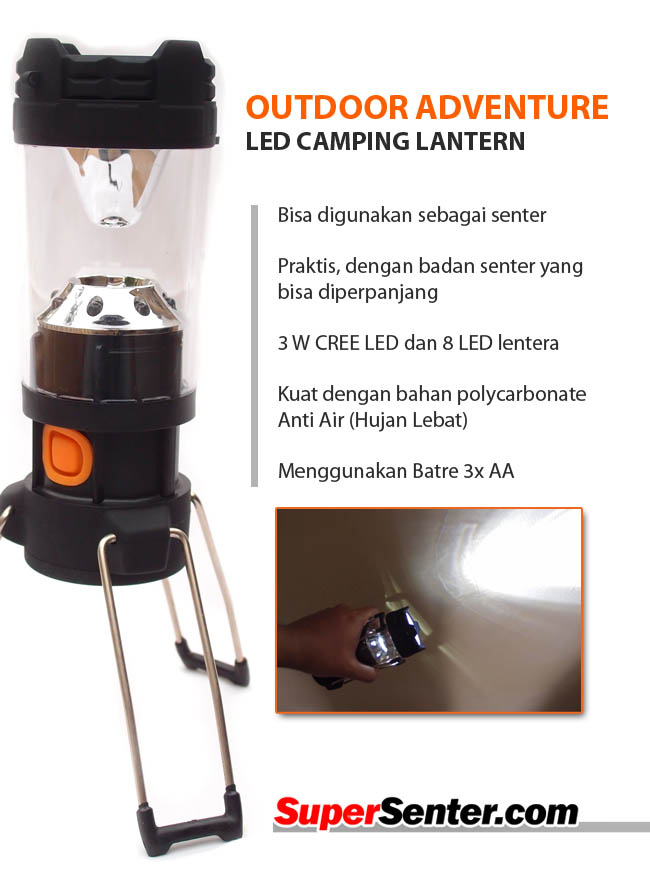 lentera led outdoor
