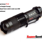 Senter Police C68 with Mini Cone Lalin